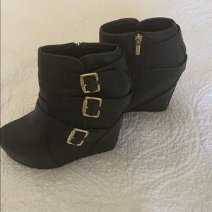 Shiekh Wedge Ankle Boots